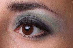 Arabic Eyes Look