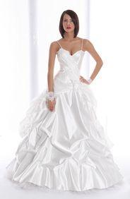 Girl wearing Ruffle Dress