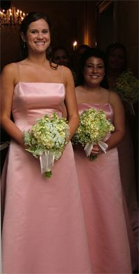 Girls in Bridesmaid Dress
