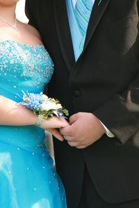 Tall woman wearing a dress