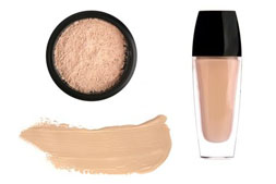 Makeup foundation types