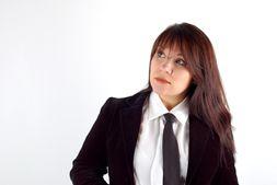 Woman in Business Dress