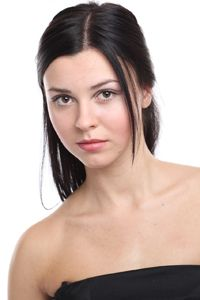 Woman with fair skintone